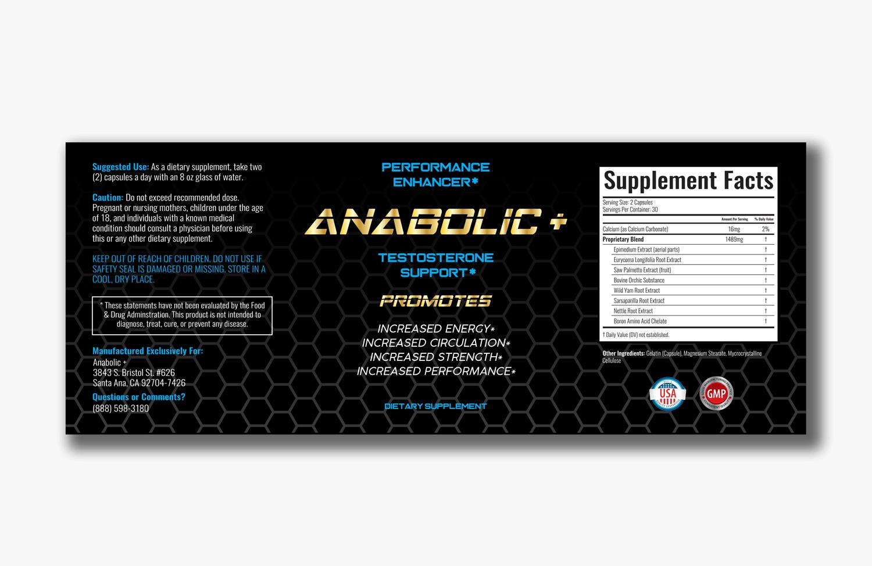 Anabolic+label