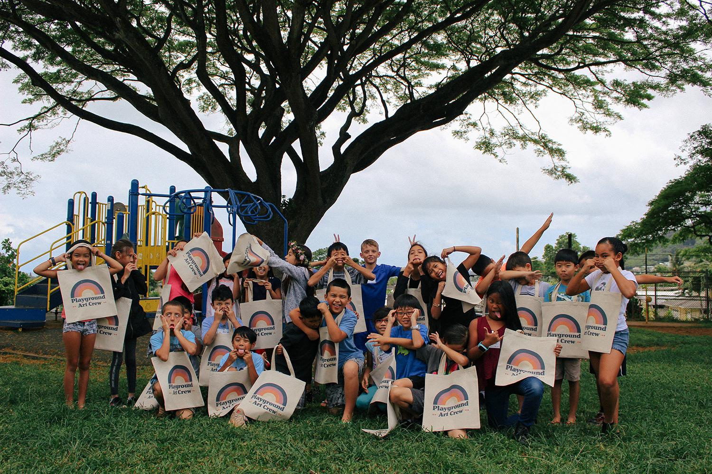 Kaneohe Elementary-groupPic